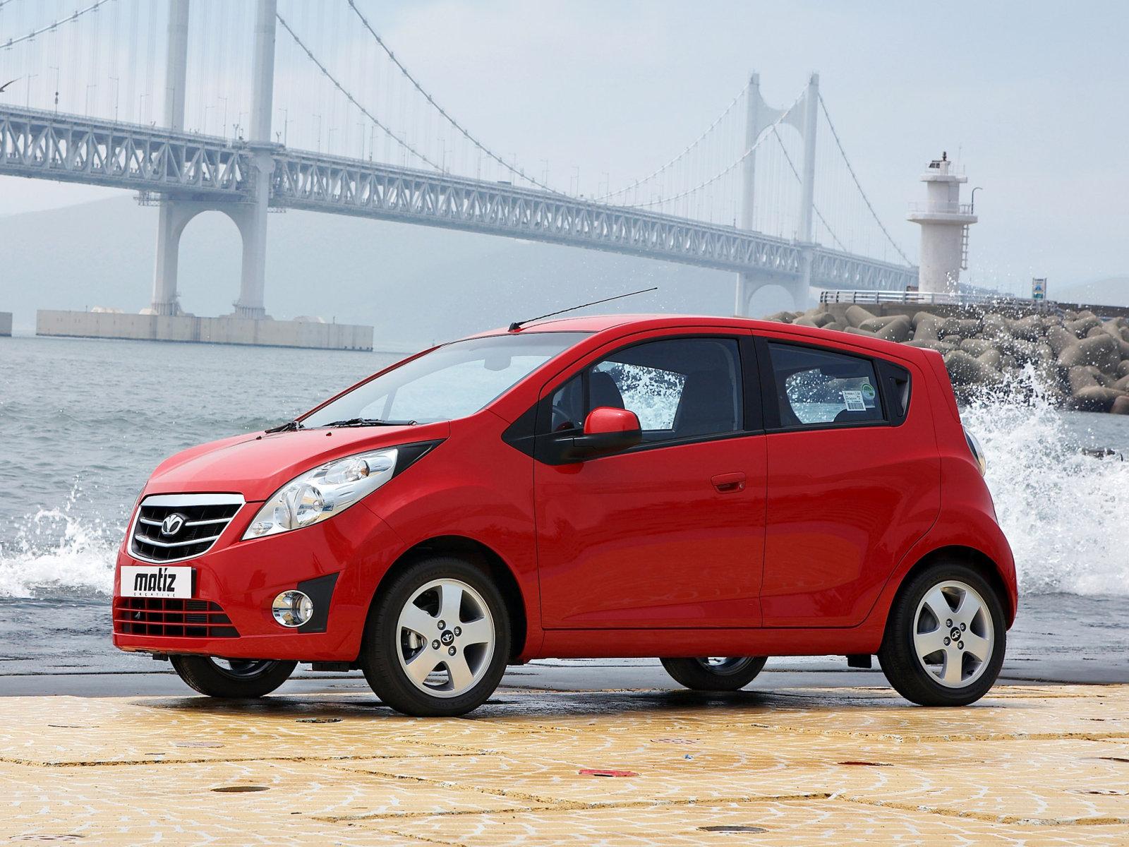 Стилистика нового кузова Daewoo Matiz