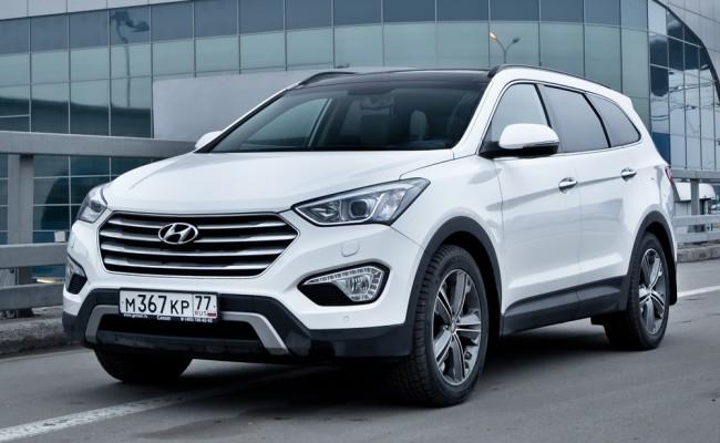 Hyundai Santa Fe в салоне Важная Персона Авто
