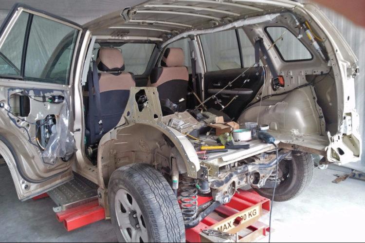 Кузовной ремонт автомобиля в Воронеже