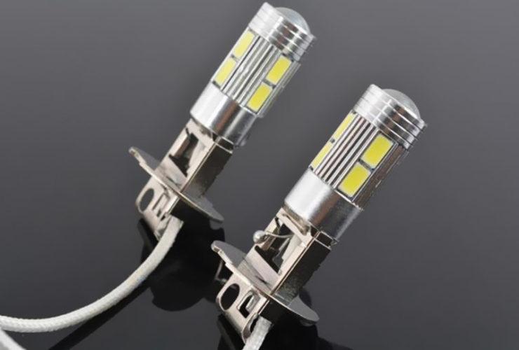 Характеристики LED ламп H3 для авто