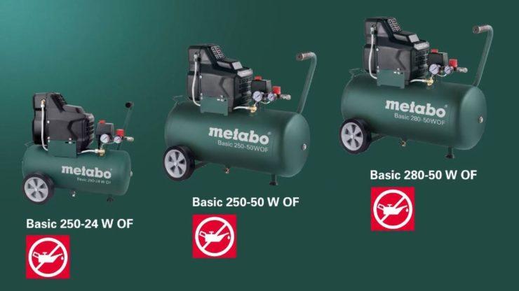 Современные компрессоры метабо для выработки сжатого воздуха