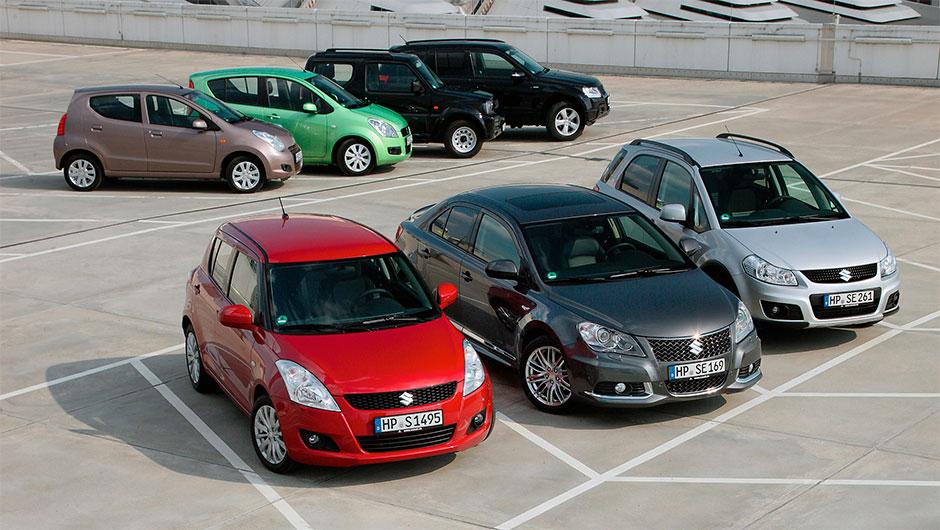Автомобили марки Сузуки на российском рынке