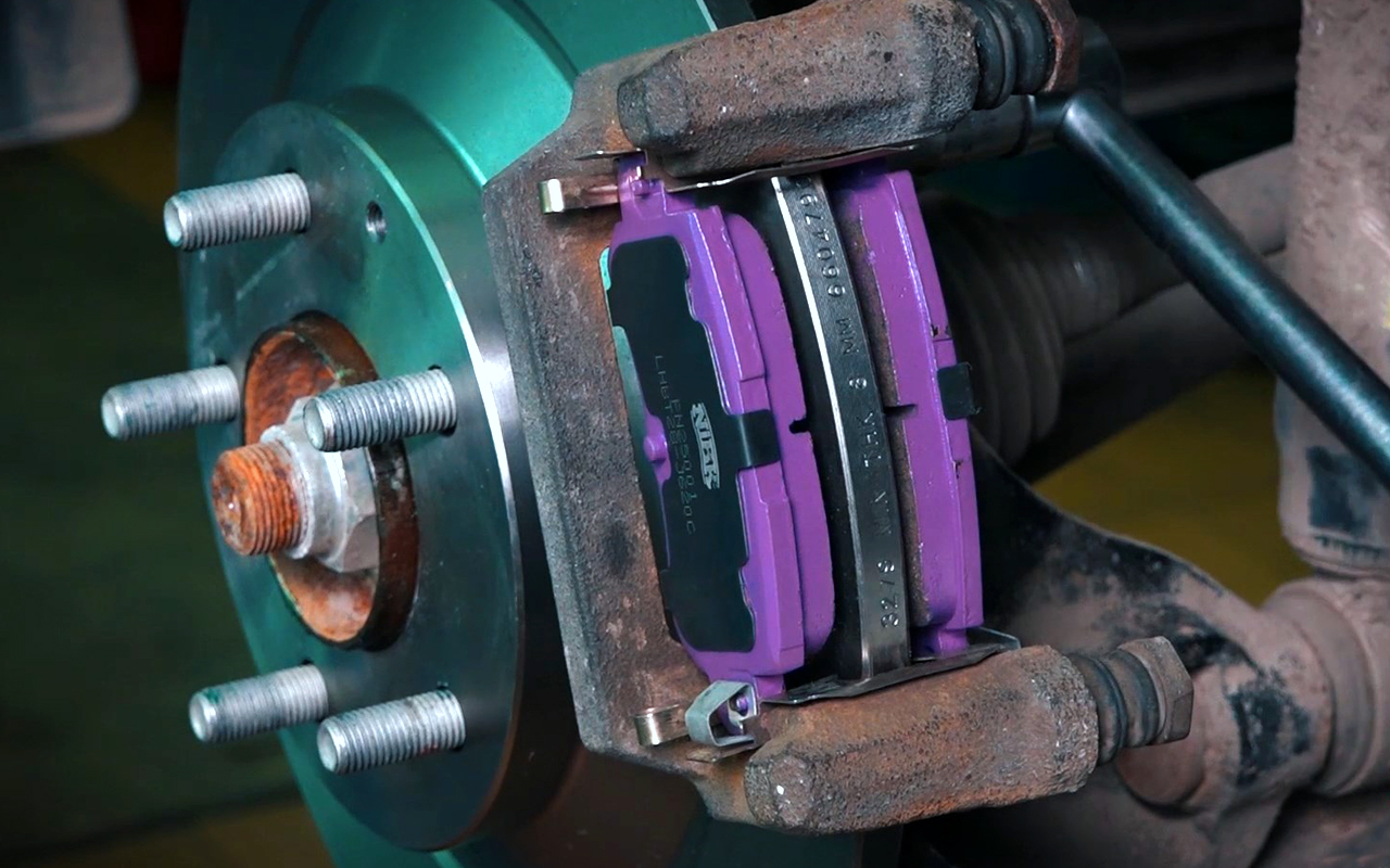 Замена тормозных колодок самостоятельно