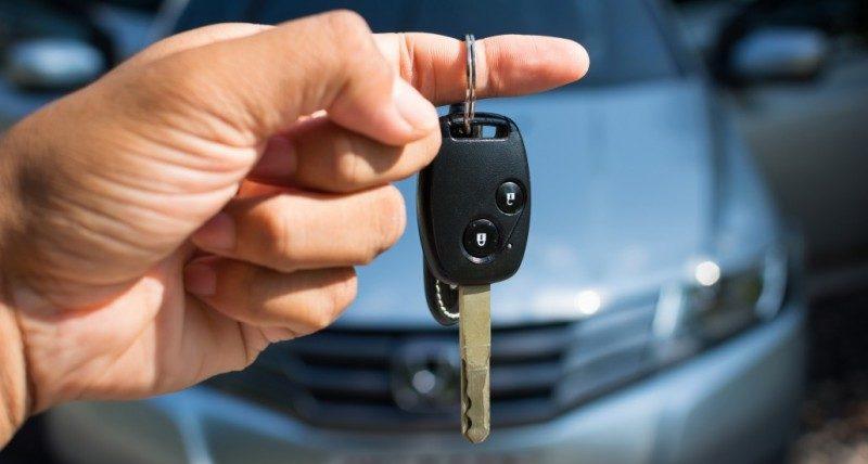 Потеря автомобильного ключа