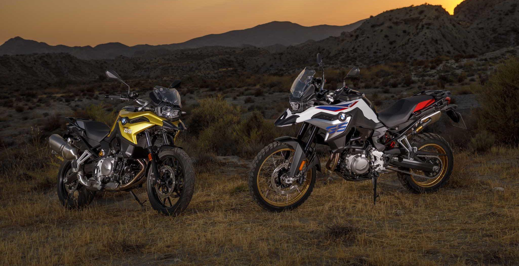 Полностью обновленные мотоциклы GS F-серии от компании BMW