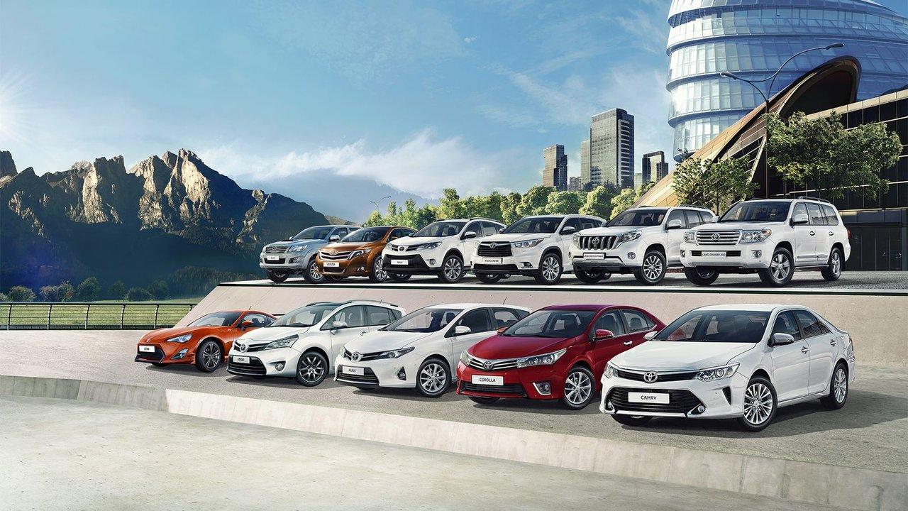 Автомобили компании Тойота
