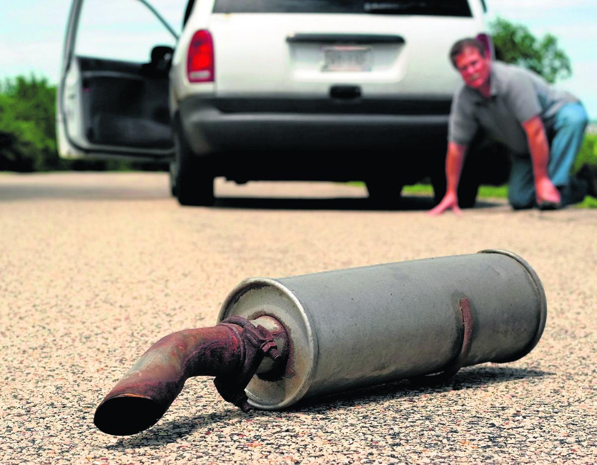 Причины неисправности выхлопной системы автомобиля