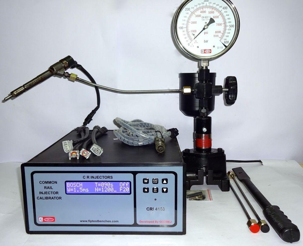 Проверка работы форсунок двигателей с помощью стенда