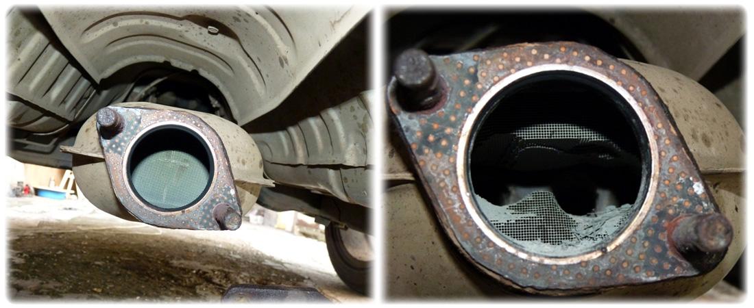 Проблемы удаления катализатора автомобиля