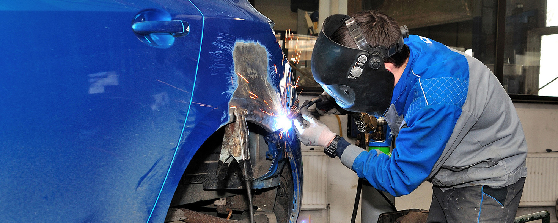 Ремонт кузова автомобиля с помощью сварки