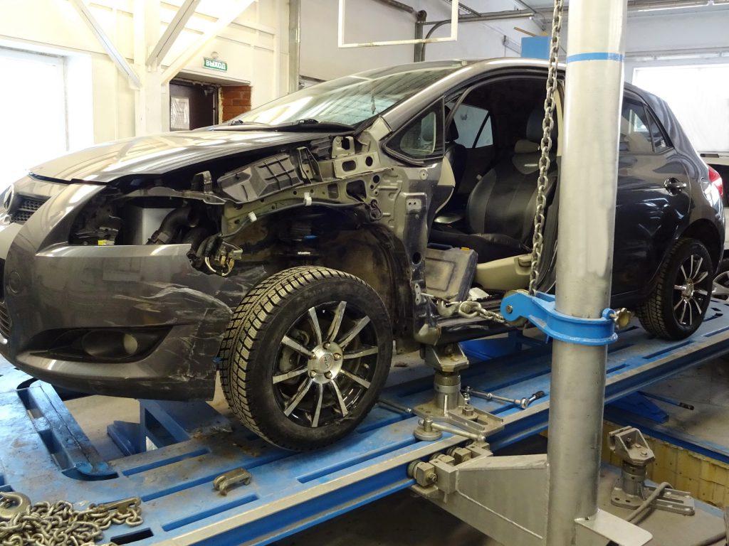 Современный кузовной ремонт автомобиля