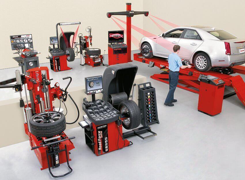 Оборудование для автосервиса – все необходимое для вашего СТО недорого, с оперативной доставкой
