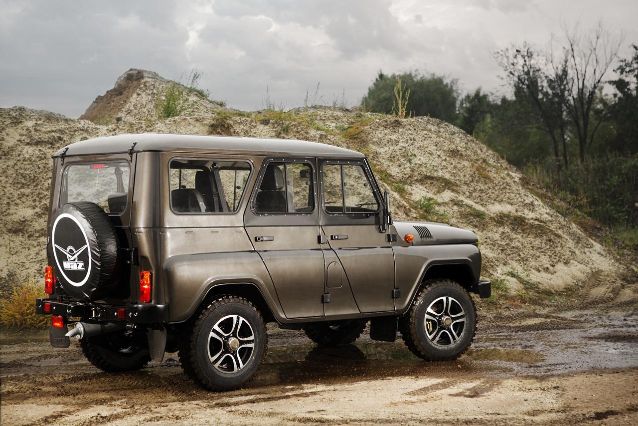 Автомобили российского производителя УАЗ