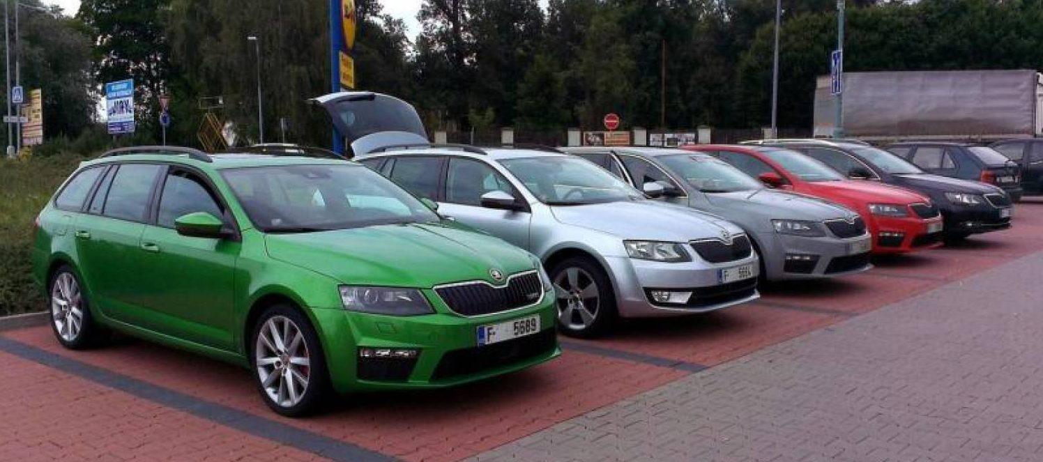 Улучшенная версия чешского автомобиля Шкода Октавия