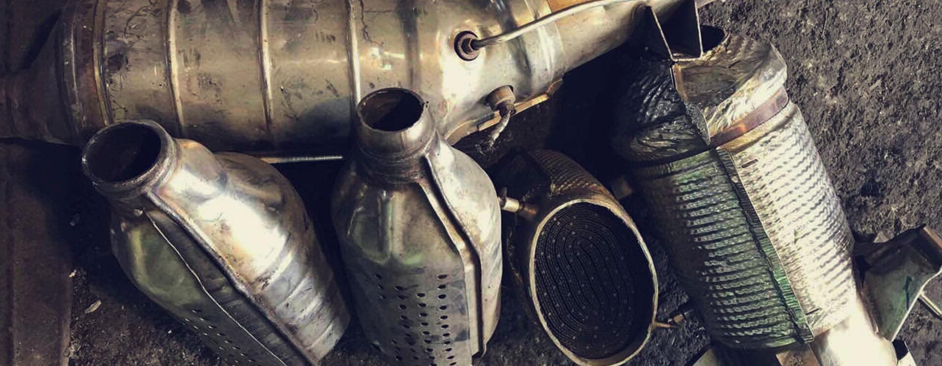 Утилизация подержанных автомобильных катализаторов