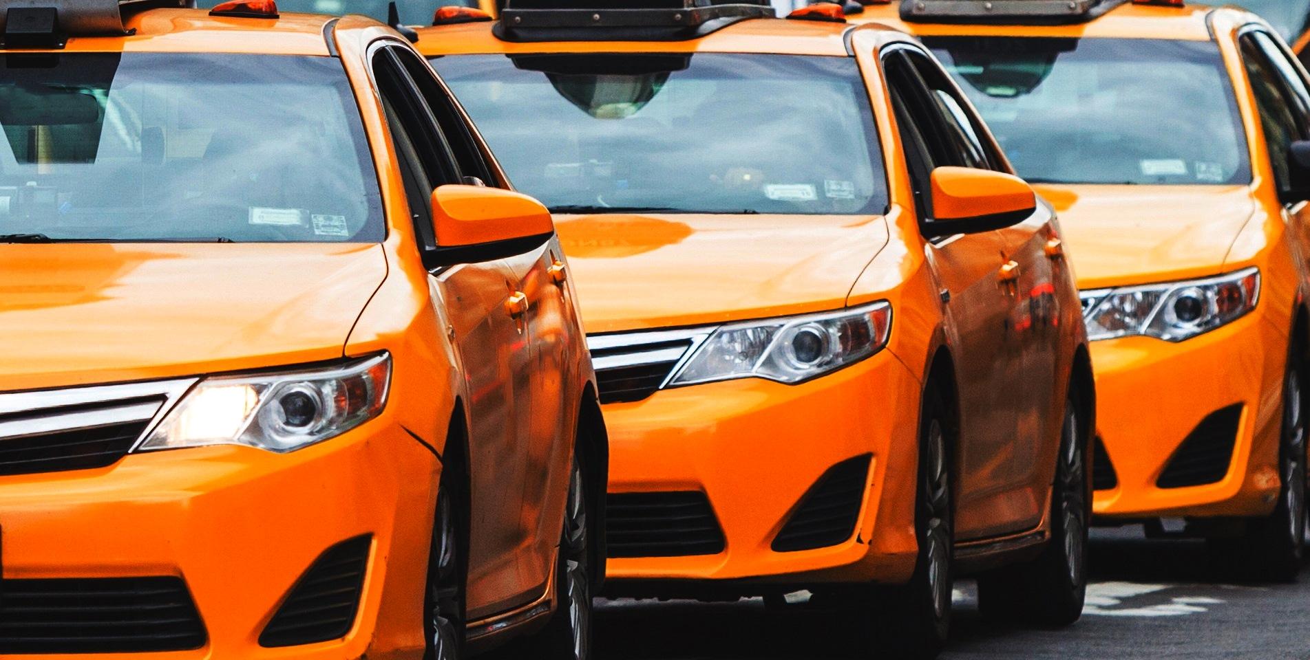 Работа в современной службе такси