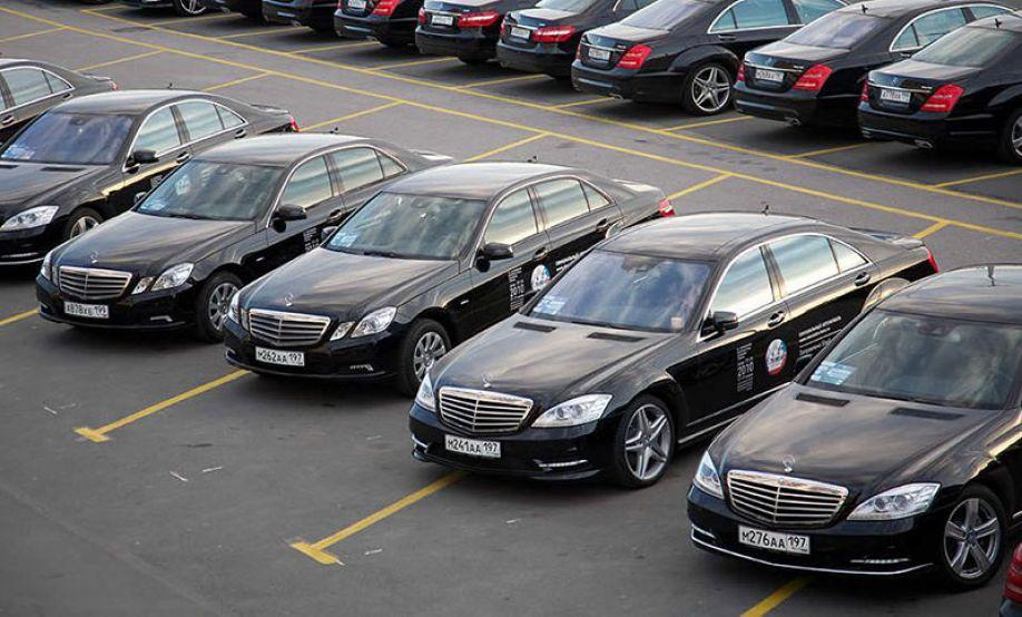 Популярность автомобилей марки Мерседес в прокате