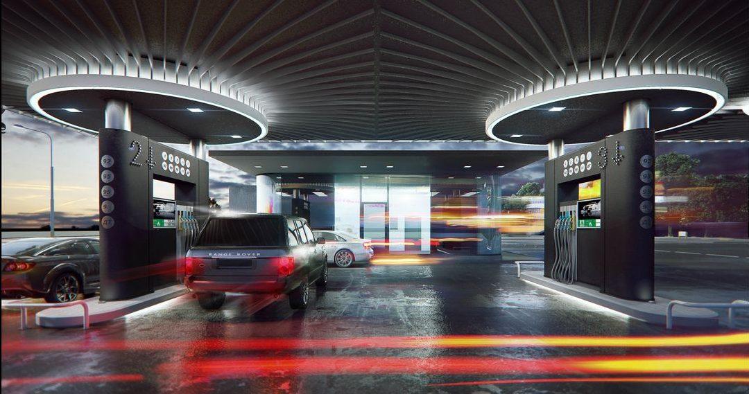 Современные автозаправочные станции