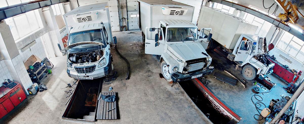 Поломки грузового коммерческого автотранспорта