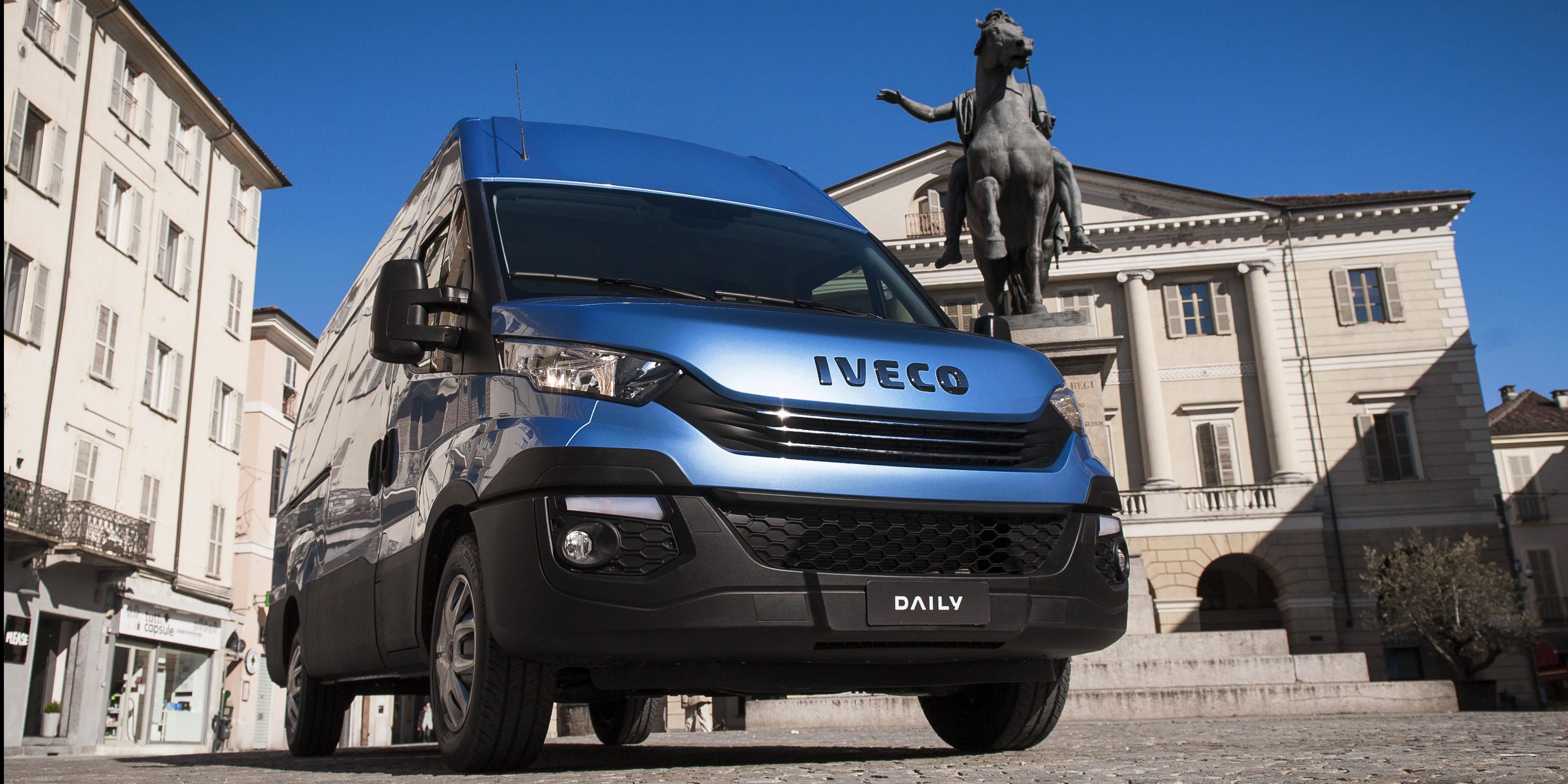Автомобили итальянского концерна IVECO для бизнеса