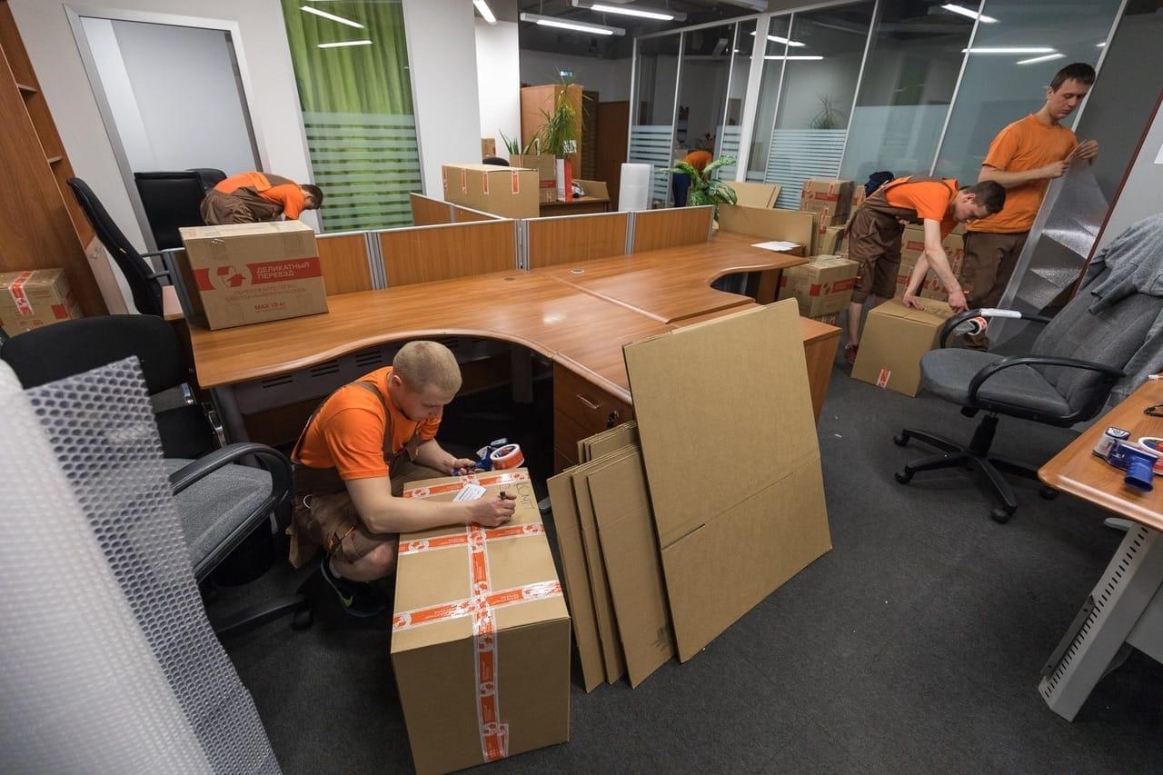 Офисный переполох при переезде в Киеве