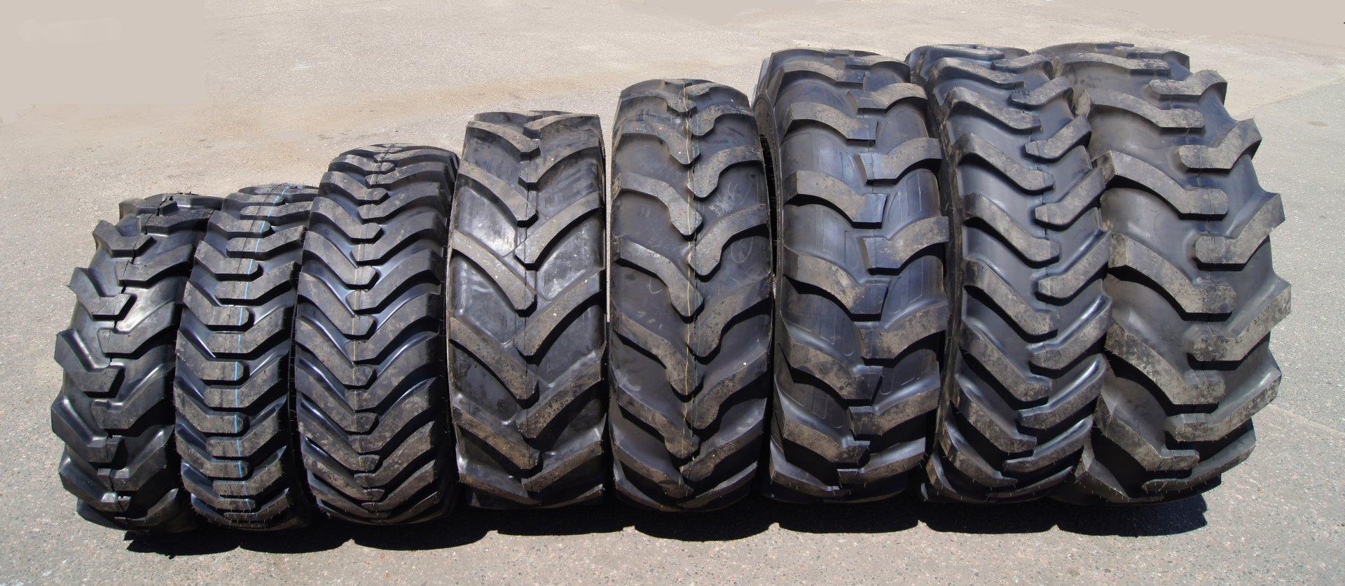 Качественные шины для спецтехники и автомобилей: Nortec и Dunlop