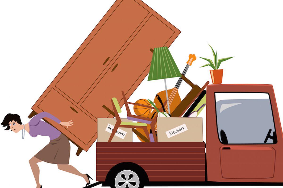Как организовать переезд на другую квартиру без особых проблем?