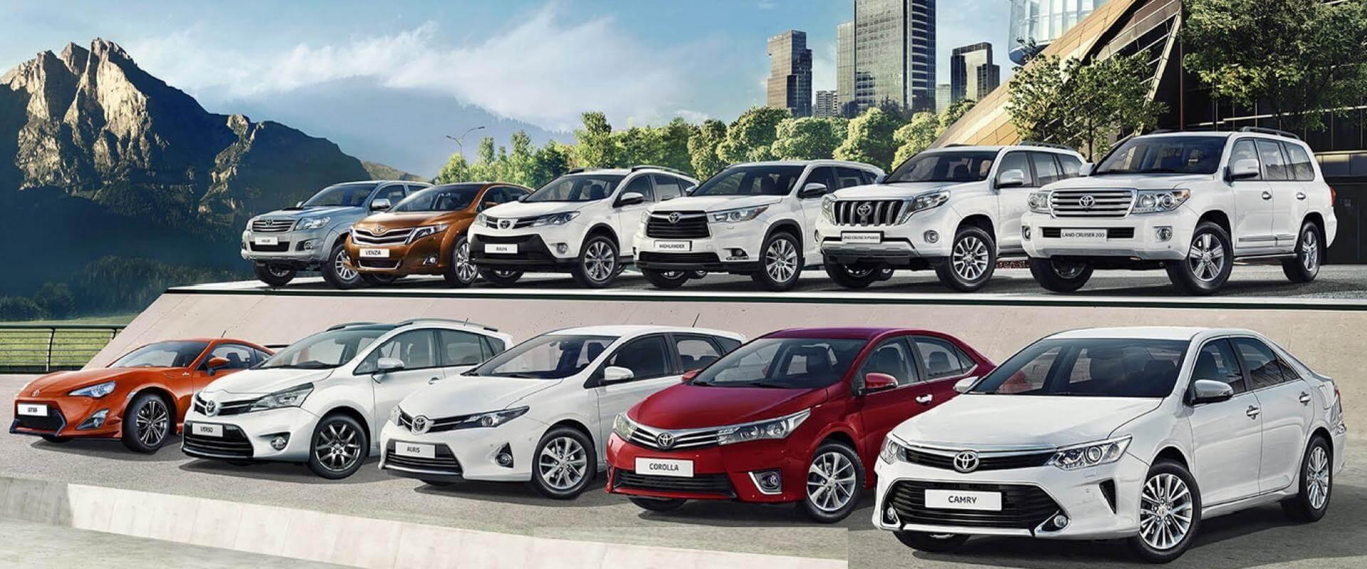 Популярные в России марки автомобилей