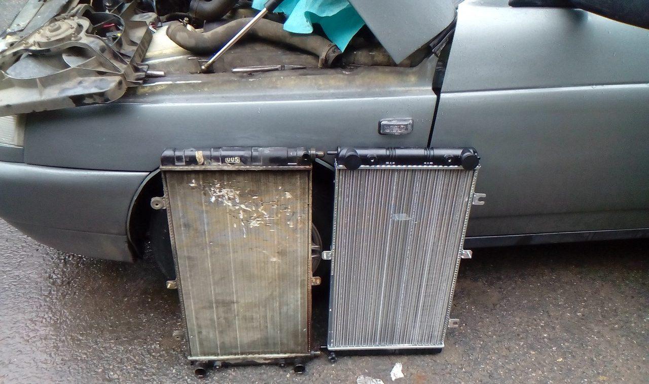 Автомобильные радиаторы на ВАЗ и их замена