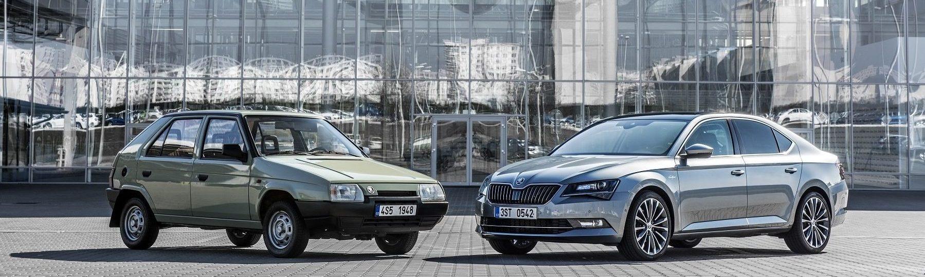 Обзор продаж автомобилей чешской компании SKODA