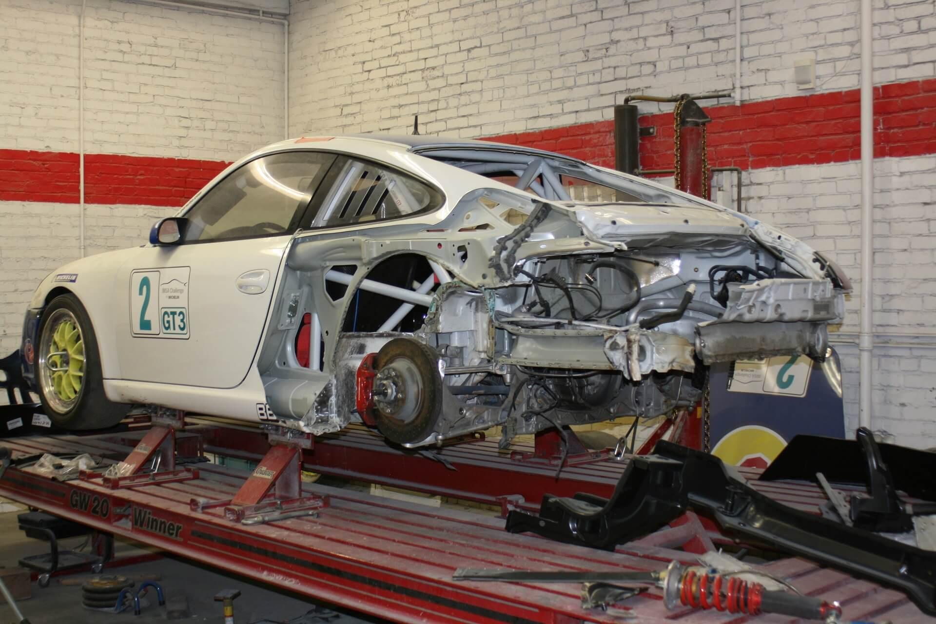 Особенности кузовного ремонта автомобиля