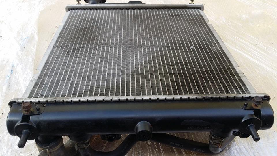 Радиатор охлаждения двигателя – подробности