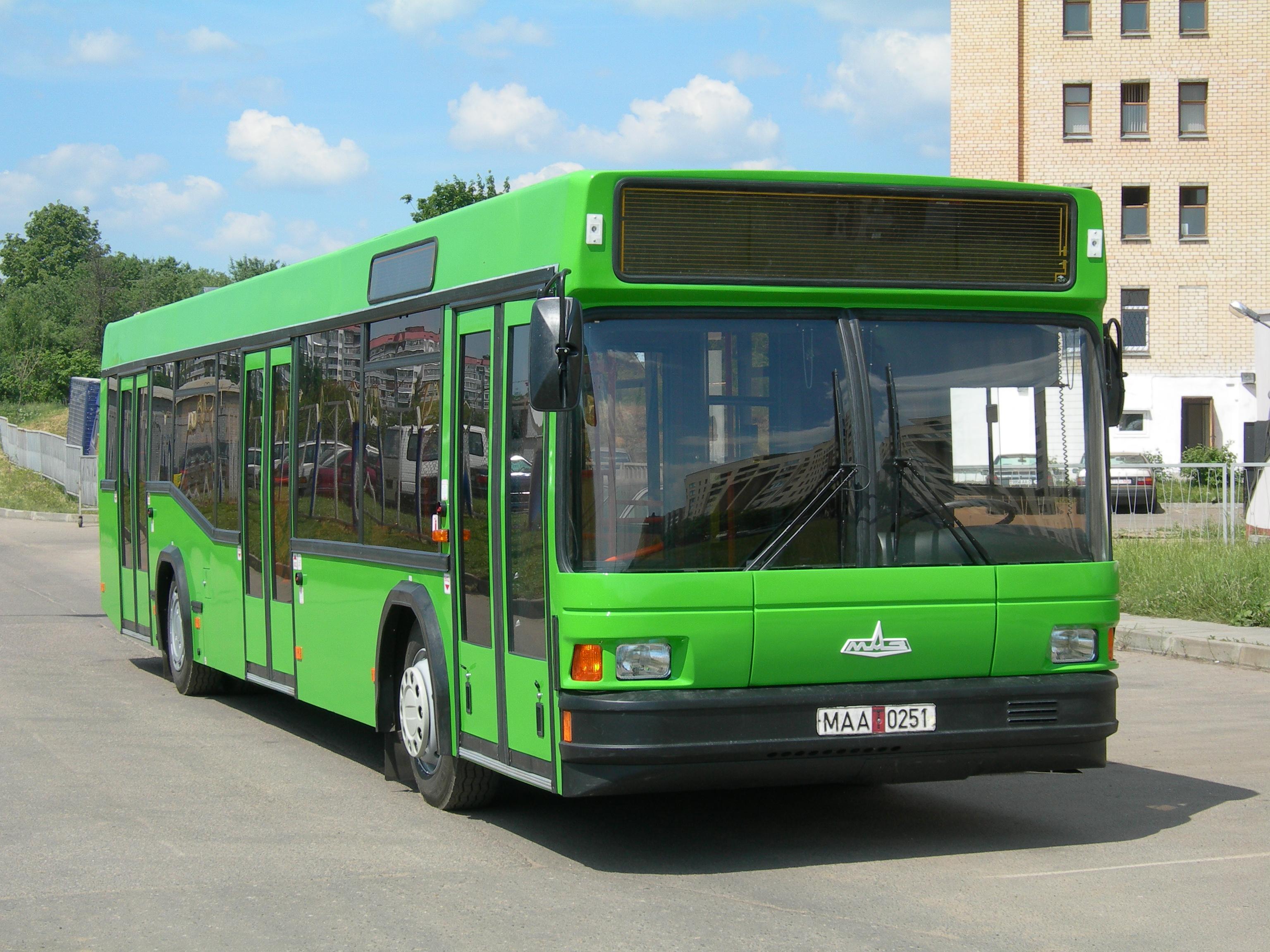 Запчасти для автобуса МАЗ