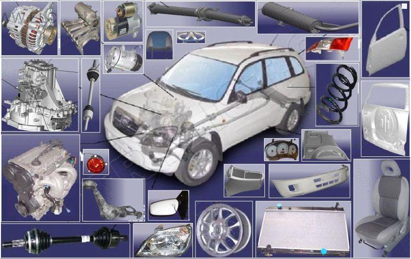 Выбор запасных частей для китайских автомобилей
