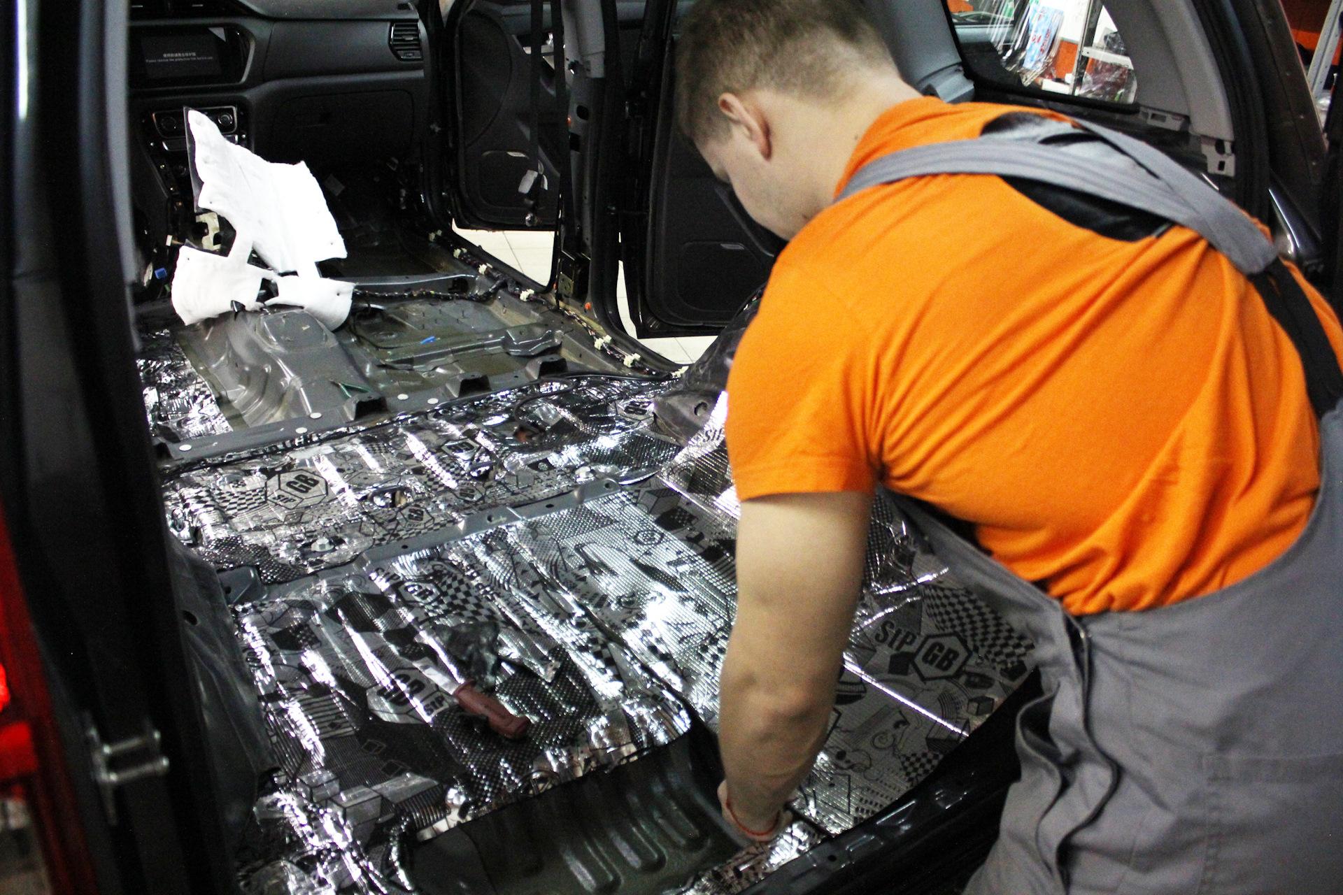 Для чего необходима шумоизоляция автомобиля — отвечают мастера одесской СТО «Шустов»
